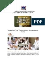 2. Instructivo Informe de Tesina Final.