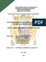 Guia de Procedimiento Para Limpieza y Esterilizacion Del Ventilador Mecanico