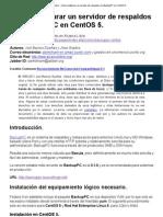 Alcance Libre - Cómo configurar un servidor de respaldos con BackupPC en CentOS 5