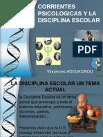 Corrientes Psicologicas y Disciplina