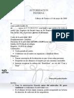 AUTORIZACION Traperos 220509