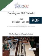 Remington 700 Rebuild