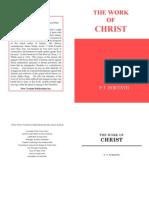 The Work of Christ- PT Forsyth