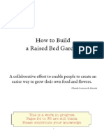 How to build raise garden beds
