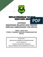 laporan internship sukan sek keb yan kechil.doc