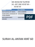 Tajwid Surah Al-An'Am Full