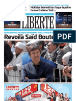 Liberte du 21.07.2013