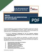 MkS 20 Gestion de Las Expectativas de Los Clientes