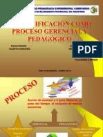 Diapositivas de la Planificaciòn como Proceso Pedagògico