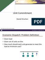 Unit Commitment