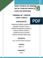 Caso Cirugia - CA. Colon