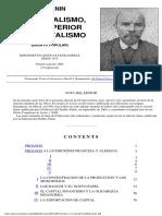 V.I. Lenin - El Imperialismo, Fase Superior Del Capitalismo