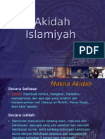 Pend. Agama Islam - Aqidah.ppt