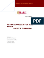 38446299 Rating Approach to Toll Roads Project Financing
