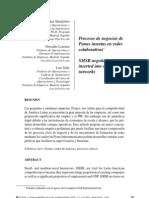Procesos de Negocios en Pymes Insertas en Redes Colaborativas