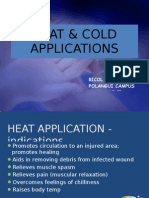 Heat & Cold Applications