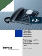 24031104_Manual Usuário Telefones analógicos HiPath 500 HiPath 2000 HiPath 3000 HiPath 5000 - Siemens