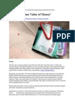 Riba dan 'Time Value of Money'