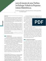 Turbina Hidráulica - Estudo e desenvolvimento