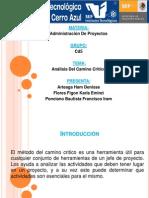 Analisis Camino Critico