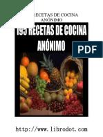 195 Recetas de Cosina