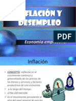 Inflacion vs Desemplea