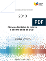 Instructivo EESS 8a10 EGB 2013
