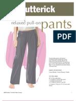 Pull on Pants