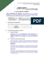 INFORME Nº 014-2012 MDN OPI FORMATO SNIP 06 Servicios Higienicos