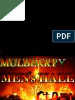 Mulberry men's hall talent showdown