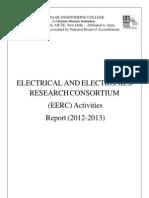 EERC Activities Report (2012-2013)