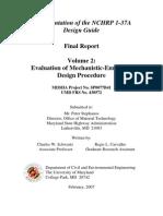 MDSHAEvaluationofMechanistic-EmpiricalDeisgnProcedure-Volume2