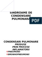 Sindroame de Con Dens Are Pulmonara