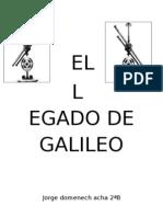 EL Legado de Galileo
