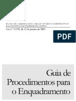Guia do plano de carreira das IFES