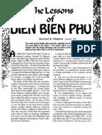 Lessons of Dien Bien Phu