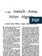 The French Army After Algeria