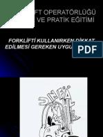 FORKLİFT KULLANIRKEN DİKKAT ED.HUSUSLAR