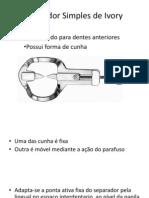 Separador Simples de Ivory - Slaid