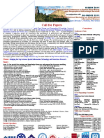 Call for Papers(ICSDM2011)