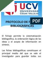 PROTOCOLO DE FICHAS BIBLIOGRÁFICAS
