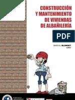 construccion y mantenimiento de viviendas de albañileria - autoconstruccion