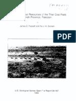 Thar Coal Field