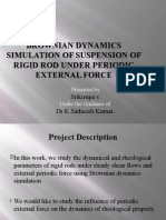 Brownian Dynamics Simulation of Suspension of Rigid Rod [Repaired]