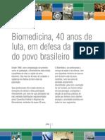Biomedicina - um painel sobre o profissional e a profissão  Ed.2008