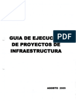Guia de Ejecucion 2009 - Foncodes