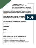 3ER.EXAMEN DEL CURSO VIRTUAL DE INVERSION PÚBLICA 2013