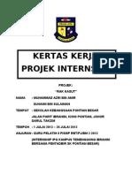 Kertas-kerja Rak Kasut SKPB (Intership IPGKTI/RBT 2010)