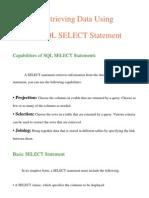 SQL Select Statement