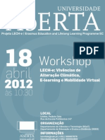 Workshop LECH-e2012